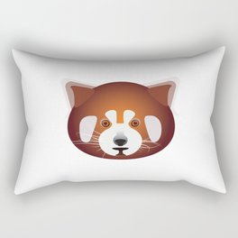 Red Panda,Cute Red Panda T-Shirt,Bear,Endangered Wildlife T-Shirt,Animal,Tees by © DAM Creative Rectangular Pillow