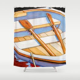 Row Boat Too Shower Curtain