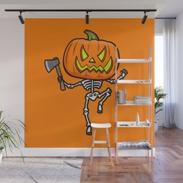 Pumpketon is coming for you Wall Mural