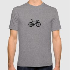 sport bike LARGE Mens Fitted Tee Tri-Grey