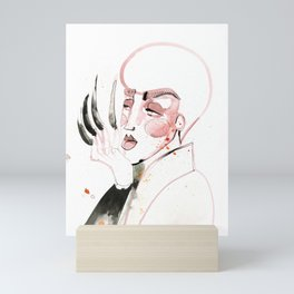 Long Nails in the House of Velour Mini Art Print