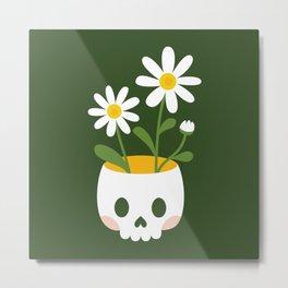 Pushing up daisies Metal Print