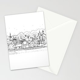 Lunenburg Halifax, Nova Scotia, Canada Stationery Cards