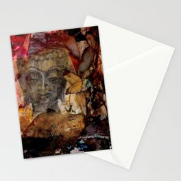Buddha Love No. 01 by Kathy Morton Stanion Stationery Cards