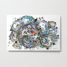 Art of Etsuko Oide Metal Print