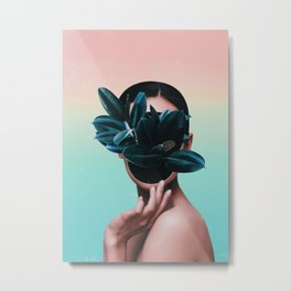 FACE PLANT Metal Print