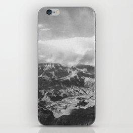 GRAND CANYON II (B+W) iPhone Skin