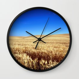 Fields of Gold Wall Clock