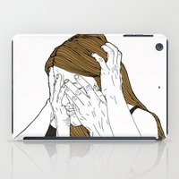 introvert iPad Cases featuring Introvert 8 by Heidi Banford