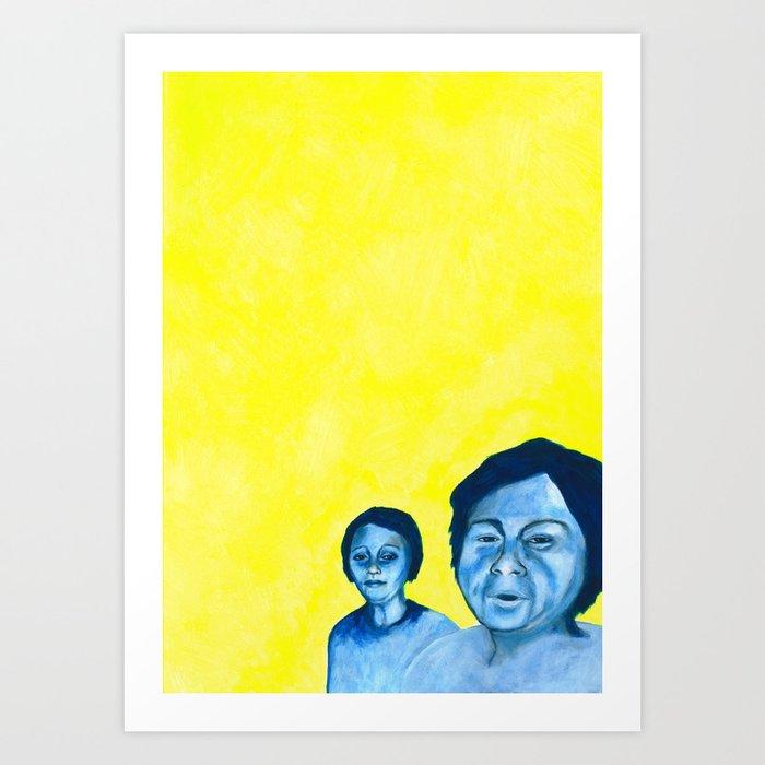 Au travail 17 Art Print