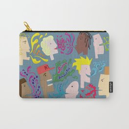 Everyones Talking Carry-All Pouch