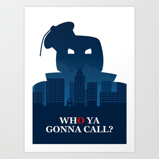 Ghostbusters – Movie Poster Art Print