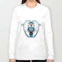 skyfall Long Sleeve T-shirts featuring Smoking Skyfall Dragon by Pr0l0gue