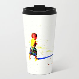 Straight Ahead to a Wonderful World! Travel Mug