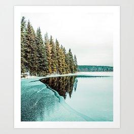 By The Lake #photography #ntaure Art Print