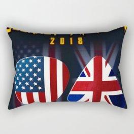 tour journey 2018 leppard ori Rectangular Pillow
