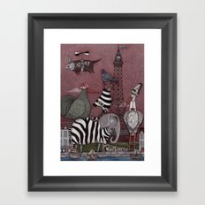 Animal Convention Framed Art Print