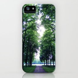Peaceful green iPhone Case