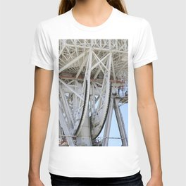 Work began on March 11 2010 to replace a set of elevation bearings on the giant Mars antenna at NASA T-shirt