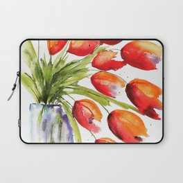 Tulips Overflowing Laptop Sleeve