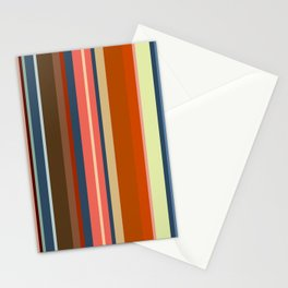 Minimal Art Retro Lines 13B Stationery Cards
