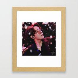 Final Curtain 1/7 Framed Art Print