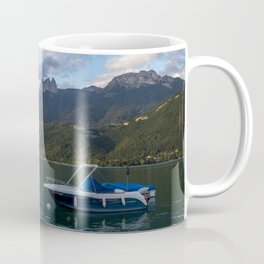 Boat Lake Annecy Coffee Mug