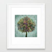 autumn Framed Art Prints featuring Autumn by Klara Acel