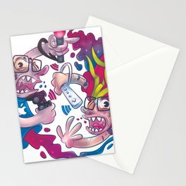 Guerre sante Stationery Cards