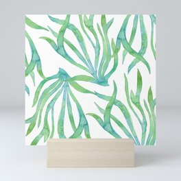 Green Seaweed Mini Art Print