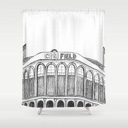 Citi Field Shower Curtain