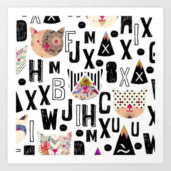 100 ii 900 Art Print