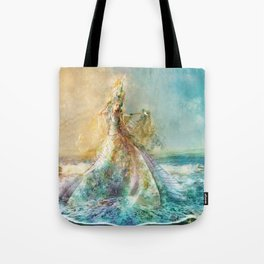 Shell Maiden Tote Bag