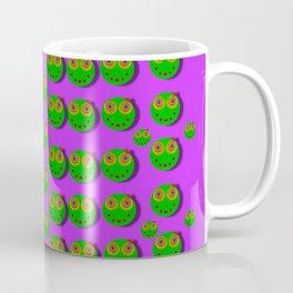 The happy eyes of freedom in polka dot cartoon pop art Coffee Mug