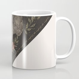Dove and Flowers Coffee Mug