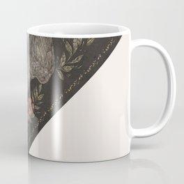 Dove and Flowers Coffee Mug
