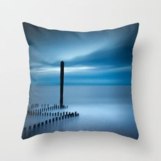 Sunrise at Caistor Throw Pillow