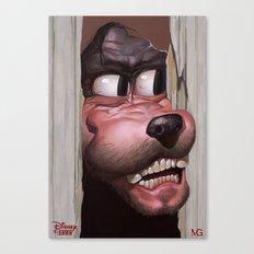 Heeere's Goofy! Canvas Print