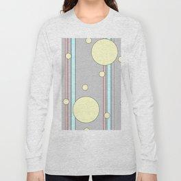 Bubble Stripe Curtains Long Sleeve T-shirt