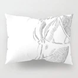Sketch of a girl Pillow Sham