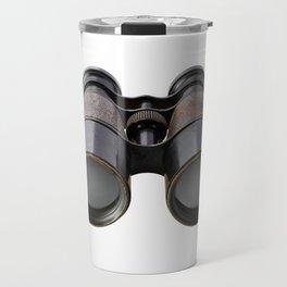 Vintage binoculars Travel Mug