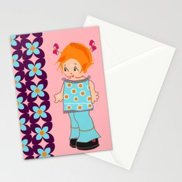 little miss mink Stationery Cards