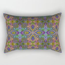 Tryptile 23 (repeating 1) Rectangular Pillow