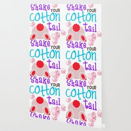 Shake Your Bunny Cotton Tail Wallpaper