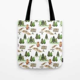 Jersey Devil Welcomes You to the Pine Barrens! Tote Bag