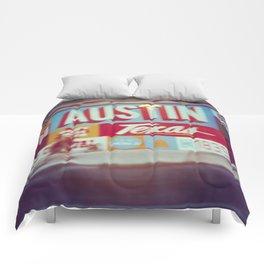 Austin, Texas Comforters