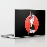 tomb raider Laptop & iPad Skins featuring Duck Raider by Lily's Factory