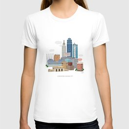 Kansas City Skyline T-shirt