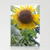 oklahoma Stationery Cards featuring Oklahoma Sun by Ariel