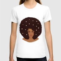 daisies T-shirts featuring Daisies by Samantha Wynell-Mayow